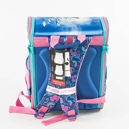 Школьный рюкзак для девочек с котиком - голубой - 18001, фото 3
