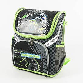 Школьный рюкзак для мальчиков - черный - 18001