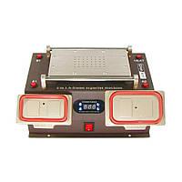 """Сепаратор 8.5"""" (19 х 11 см) AIDA A-978, 3 в 1, со встроенным компрессором и приспособлениями для демонтажа дисплейных рамок"""