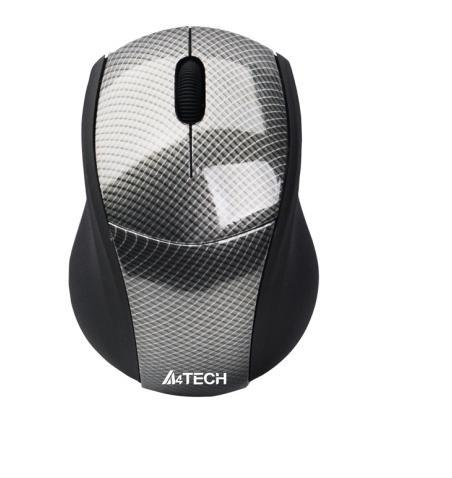 Мышь A4Tech G7-100N WL USB Carbon