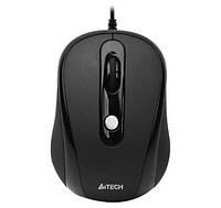 Мышь A4Tech N-250X-1 USB Black