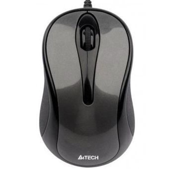 Мышь A4Tech N-360-1 USB Grey