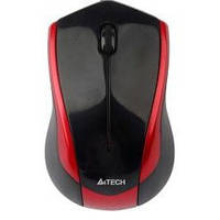 Мышь A4Tech N-400-2 USB Grey-Red