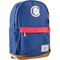 Стильный  подростковый рюкзак CA 087  синий  ТМ 1 Вересня, фото 1