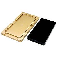 Комплект форм (из металла и мягкой резины) для SAMSUNG G950 Galaxy S8, для отцентровки и склеивания дисплея со стеклом