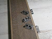 Клипса усиленная (кляммер) UNIONmet  для монтажа террасной доски