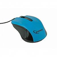 Мышь Gembird MUS-101-B USB Blue