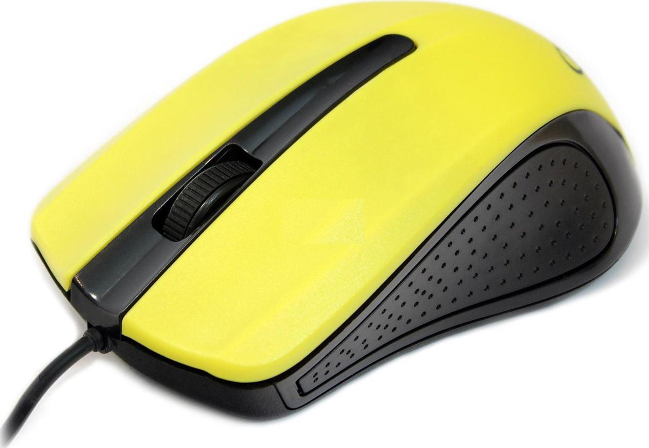 Мышь Gembird MUS-101-Y USB Yellow