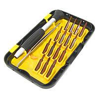 Набор инструментов LUKEY L3034 (Ручка+15насадок+пинцет прямой)