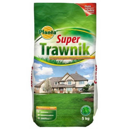 Семена травы газонной Planta Super Trawnik 5кг, фото 2