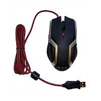 Мышь Golden Field Game M007G USB Black-Steel