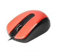 Мышь Maxxter Mc-325-R USB Red