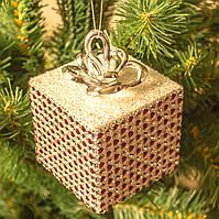 """Украшение на елку """"Подарок"""""""