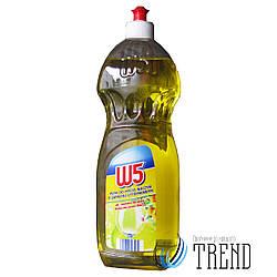 Гель для миття посуду W5  (лимон) 1л.