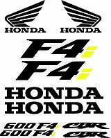 Виниловая наклейка  - HONDA F4i 600F4 CBR