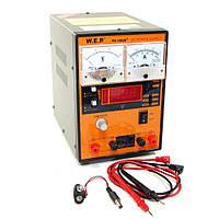 Блок питания WEP PS-1502D+, 15V, 2A, цифровая/стрелочная индикация, RF индикатор, тестер, автовосстановление после КЗ