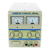 Блок питания ZHAOXIN 302A 30V 2A, аналоговая индикация