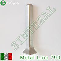 Угол наружный Profilpas Metal Line 790/4. Полированный