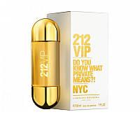 Женская парфюмированная вода carolina herrera 212 vip 30 ml