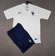 Футбольная форма сборной Франции выездная 2018-20