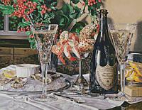 """Схема для вышивания """"Dom Perignon и морепродукты"""""""