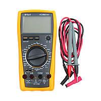 Мультиметр цифровой  VC9801A+ с функцией автоотключения и подсветкой (ток до 20A)