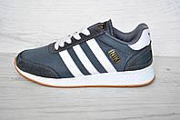Кроссовки мужские Adidas  Iniki Runner адидас иники ранер серые реплика Вьетнам