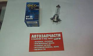 Лампа галогенна SCT H7 24V 70W