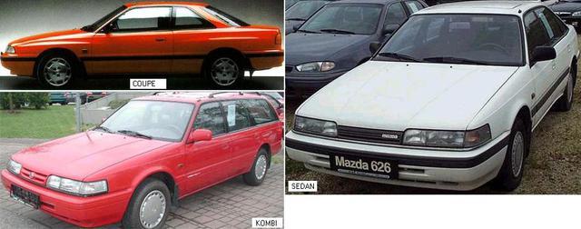 MAZDA626 88-92 (GD) 88-96 (GV)