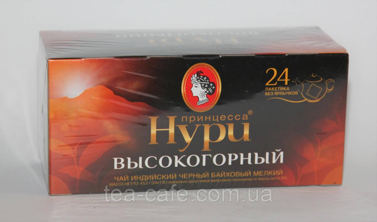 Чай чорний Принцеса Нурі Високогірний 24 пак. б/я
