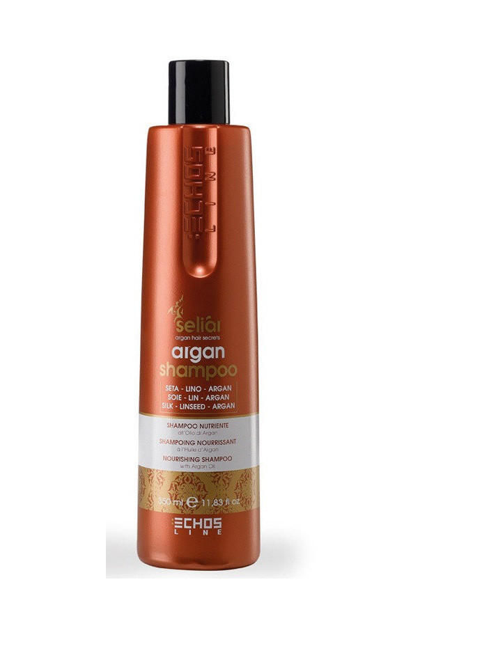 Echosline Seliar Nourshing Shampoo with Argan OilL - Шампунь на основе масла Аргании 350 мл