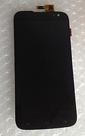 Оригинальный дисплей (модуль) + тачскрин (сенсор) для Gigabyte GSmart Saga S3 (черный цвет)