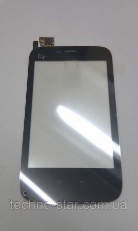 Тачскрин / сенсор (сенсорное стекло) для Fly E154 (черный цвет)