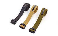 Пояс тактический Tactical Belt 5385: размер 130х3,5см, 3 цвета
