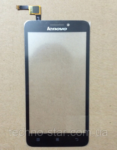 Оригинальный тачскрин / сенсор (сенсорное стекло) для Lenovo A606 (черный цвет)