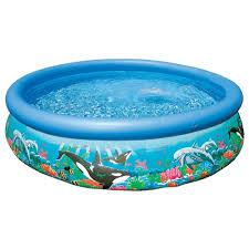 Надувной бассейн Intex Ocean Reef Easy Set Pool 366х76 см (54906)