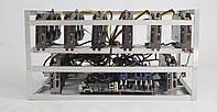 Майнинг ферма на 8 видеокарт RX 580