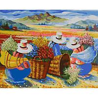 Картина по номерам Сбор урожая, 40х50 см
