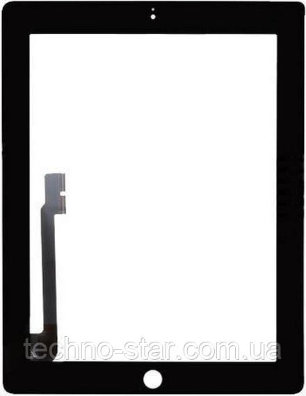Оригинальный тачскрин / сенсор (сенсорное стекло) для Apple Ipad 3   Ipad 4 (черный цвет)