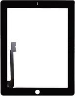 Оригинальный тачскрин / сенсор (сенсорное стекло) для Apple Ipad 3 | Ipad 4 (черный цвет)