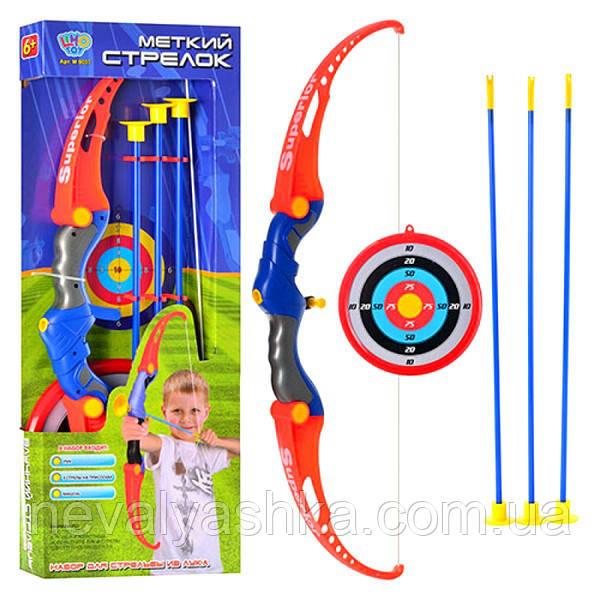 Оружие Лук стрелы на присосках мишень, M 0037, 008607
