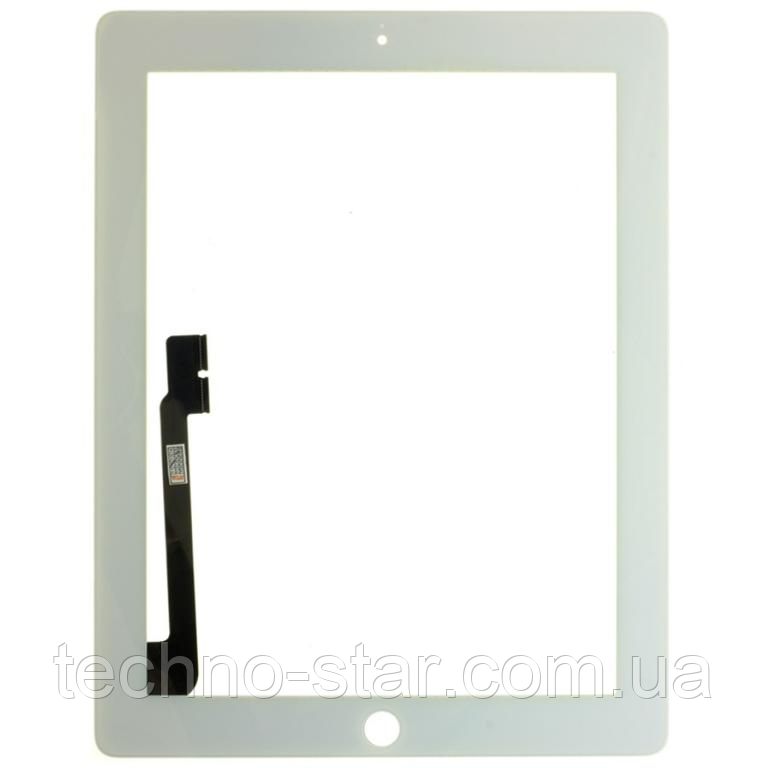 Оригинальный тачскрин / сенсор (сенсорное стекло) для Apple Ipad 3 | Ipad 4 (белый цвет)