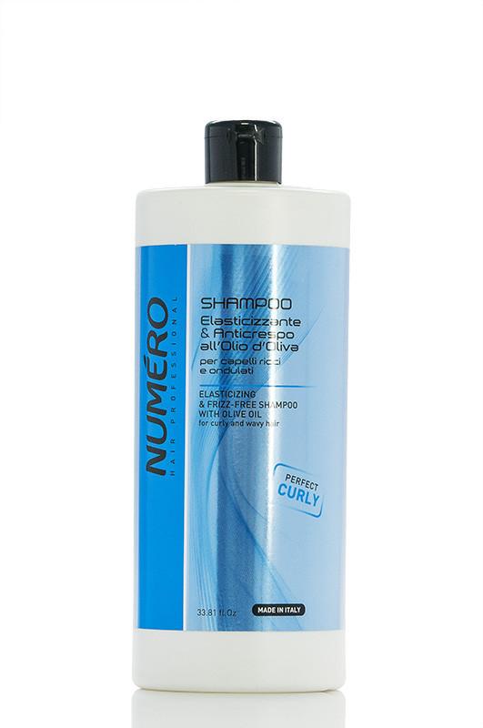 Brelil NUMERO CURLY Шампунь для въющихся волос на основе масла оливы 1000 мл