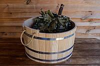 Шайка дубовая для бани и сауны 25 литров., фото 1
