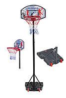Баскетбольное кольцо на стойке Hudora 165-205 см Германия