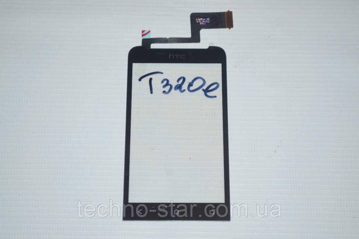 Оригинальный тачскрин / сенсор (сенсорное стекло) для HTC One V T320e (черный цвет)