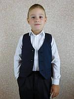 Школьный жилет на мальчика, фото 1