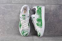 Кроссовки Adidas Stan Smith Tropik Green Женские (ЗЕЛЕНЫЕ), фото 1