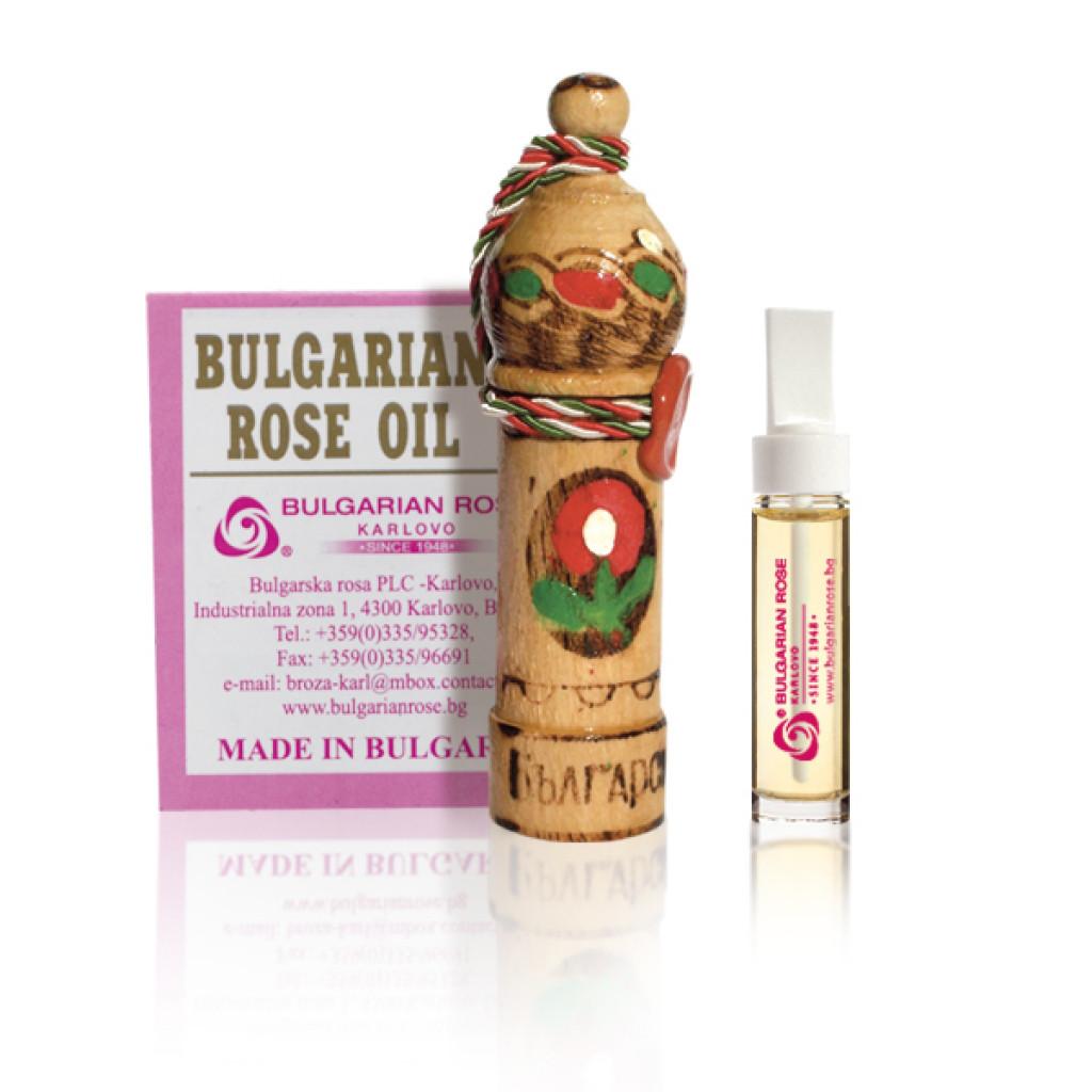 Масло троянди натуральне Болгарська Троянда Rosa Damascene 1 гр