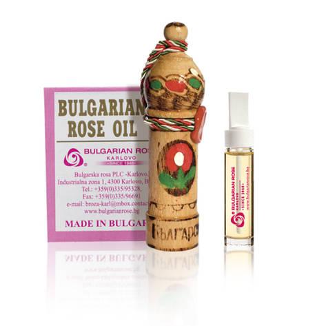Масло троянди натуральне Болгарська Троянда Rosa Damascene 1 гр, фото 2